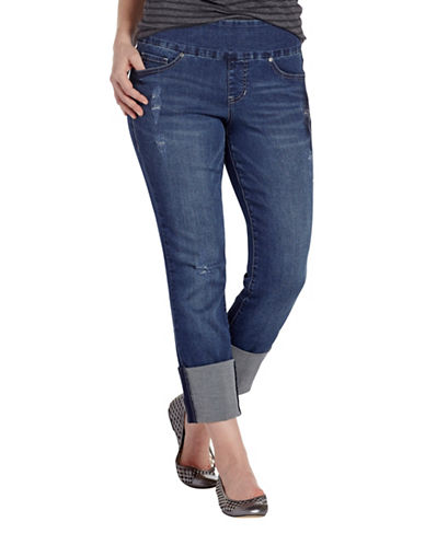 Jag Jeans Lewis Straight Cuff Jeans-BLUE-14