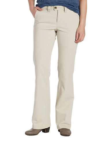Jag Jeans Eyelet Standard Trousers-GREY-16