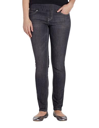 Jag Jeans Nora Jackie Skinny Jeans-GREY-0