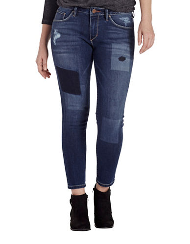 Jag Jeans Mera Skinny Ankle Jeans-BLUE-8