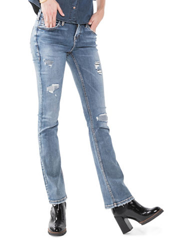 Silver Jeans Aiko Slim Boot Jeans-INDIGO-27X35