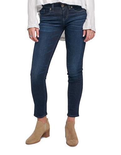 Silver Jeans Suki Super Mid-Rise Skinny Jeans-INDIGO-32X31