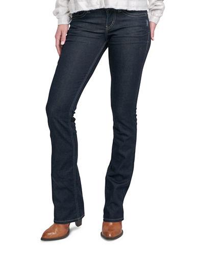 Silver Jeans Suki Mid-Rise Slim Bootcut Jeans-INDIGO-31X33