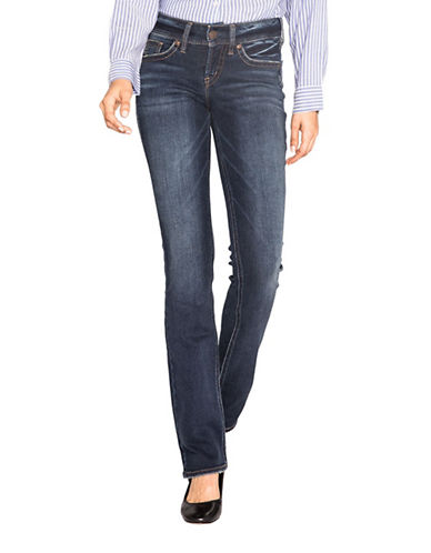 Silver Jeans Suki Slim Boot Jeans-INDIGO-28X33
