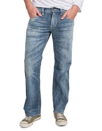 Silver Jeans Gordie Stretch Jeans-BLUE-28X34
