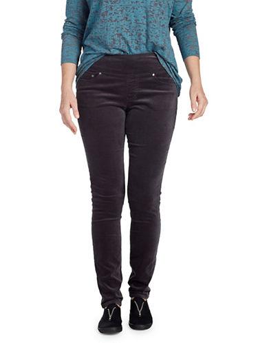 Jag Jeans Banded-Waist Skinny Jeans-BLACK-8