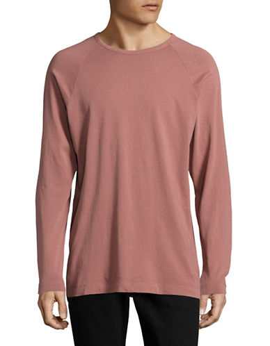 Kuwalla Tee Raglan-Sleeved Top-RED-Large 88916564_RED_Large