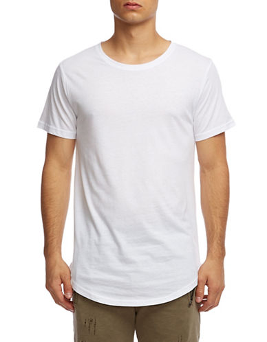 Kuwalla Tee Easy Scoop T-Shirt-WHITE-X-Large