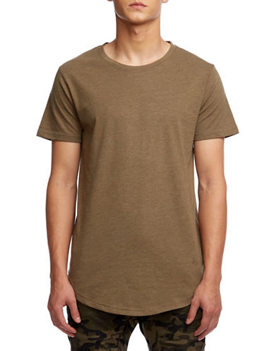 Kuwalla Tee Easy Scoop T-Shirt-GREEN-X-Large