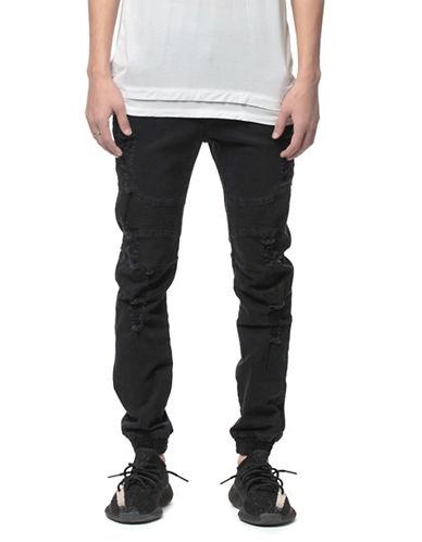 Kuwalla Tee Kamikaze Jogger Pants-BLACK-38