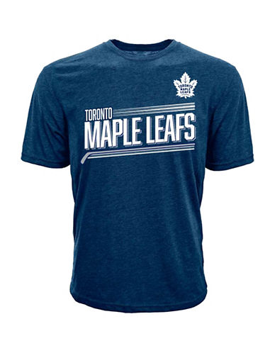 Levelwear Short-Sleeve Leafs Matthews Tee-NAVY-Small