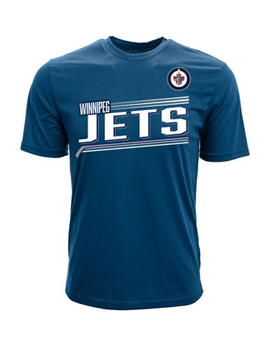 Levelwear Short-Sleeve Jets Laine Tee-NAVY-Small