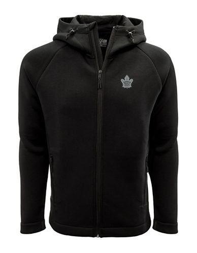 Levelwear Toronto Maple Leafs Thermal Cell Fleece Hoodie-BLACK-X-Large