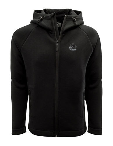 Levelwear Vancouver Canucks Thermal Cell Fleece Hoodie-BLACK-X-Large
