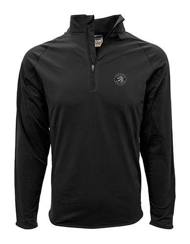Levelwear Metro Flames Half Zip Sweatshirt-BLACK-X-Large 89741358_BLACK_X-Large