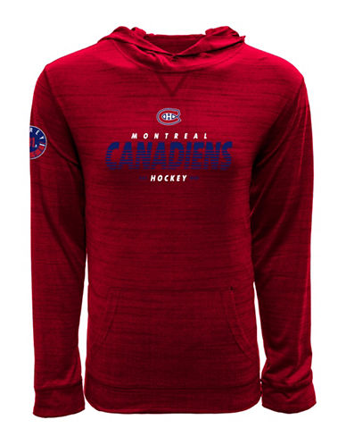Levelwear Montreal Canadiens NHL Price Hoodie-RED-X-Large