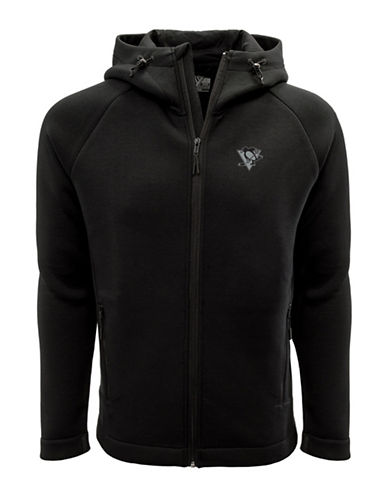Levelwear Pittsburgh Penguins Thermal Cell Fleece Hoodie-BLACK-XX-Large 89741304_BLACK_XX-Large