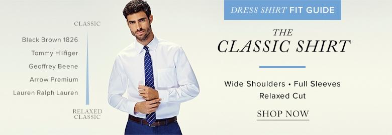 Dress shirts for men hudson 39 s bay for Small collar dress shirt