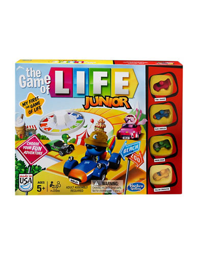 Hasbro The Game of Life Junior Game-MULTI-One Size