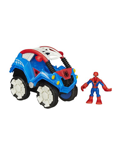 Playskool Flip-Out Stunt Buggy Vehicle with Spider-Man Figure-MULTI-One Size 88675430_MULTI_One Size