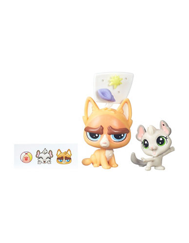 Littlest Pet Shop Sulky MacWhiskers and Chenille Toy Set-MULTI-One Size