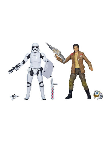 Star Wars Star Wars The Force Awakens Black Series 6 Inch Stormtrooper and Poe Dameron Two-Pack-MULTI-One Size 88834370_MULTI_One Size