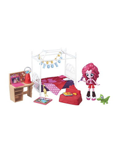 My Little Pony My Little Pony Equestria Girls Minis Pinkie Pie Slumber Party Bedroom Set-MULTI-One Size