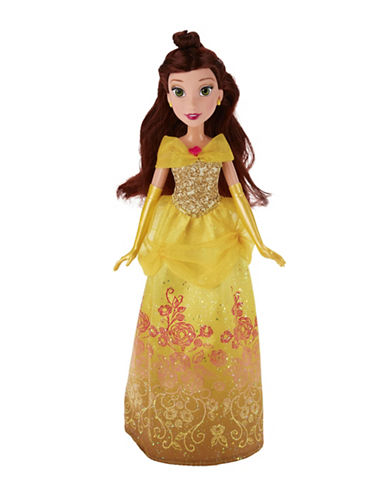 Disney Royal Shimmer Belle Doll-MULTI-One Size