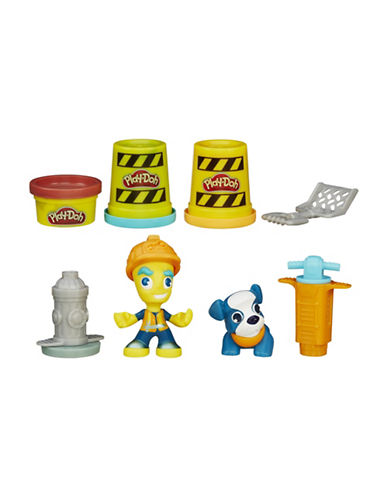 Play-Doh Play-Doh Town Road Worker and Pup-MULTI-One Size
