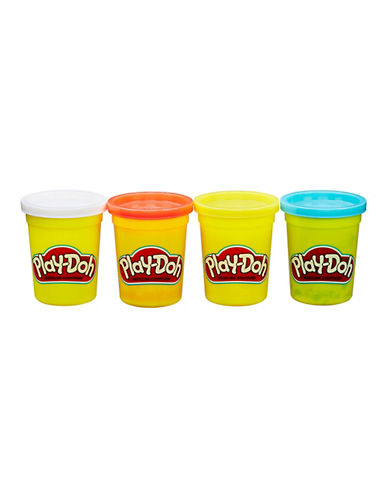 Play-Doh Play-Doh Four-Pack of Classic Colors-MULTI-One Size