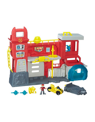 Playskool Rescue Bots Griffin Rock Firehouse Headquarters-MULTI-One Size