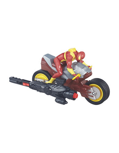 Marvel Iron Spider with Repulsor Cycle-MULTI-One Size