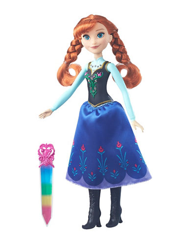Frozen Crystal Glow Anna Doll-MULTI-One Size