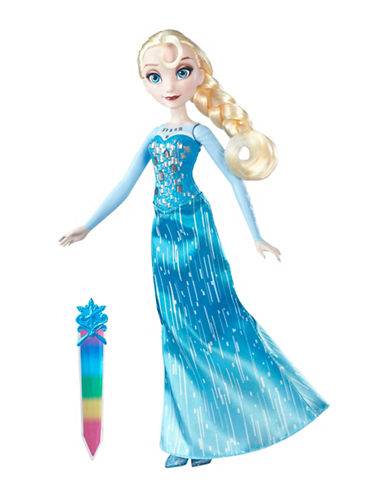 Frozen Crystal Glow Elsa Doll-MULTI-One Size