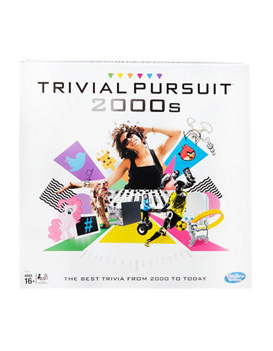 Hasbro Trivial Pursuit 2000s Edition - English Version-MULTI-One Size