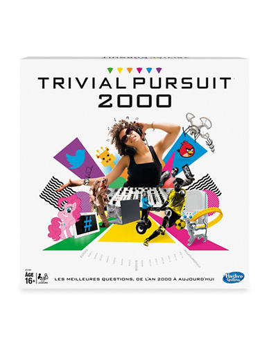 Hasbro Trivial Pursuit 2000 (French Version)-MULTI-One Size
