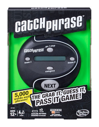 Hasbro Catch Phrase Game-MULTI-One Size