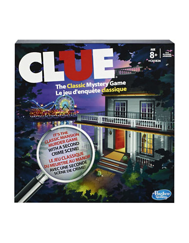 Hasbro Clue Game-MULTI-One Size