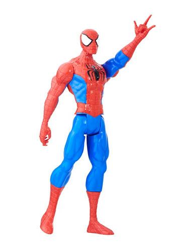 Marvel Titan Hero Series 12-Inch Spider-Man Figure-MULTI-One Size
