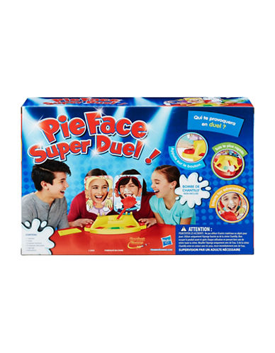 Hasbro Pie Face Showdown Game-MULTI-One Size