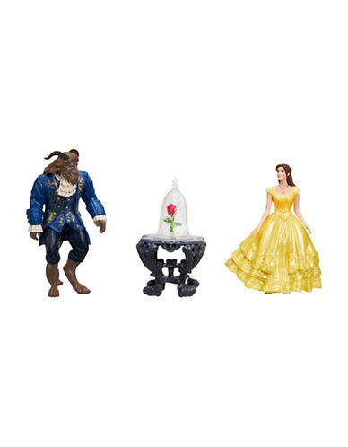 Disney Beauty and the Beast Enchanted Rose Scene Set-MULTI-One Size