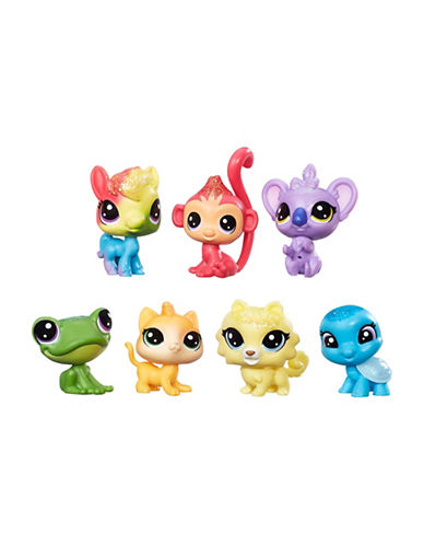 Littlest Pet Shop Mini Scale Rainbow Friends Set-MULTI-One Size
