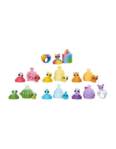 Littlest Pet Shop Teensie Rainbow Friends Set-MULTI-One Size