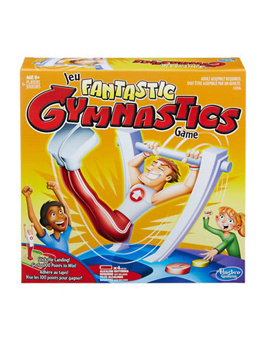 Hasbro Fantastic Gymnastics Game-MULTI-One Size