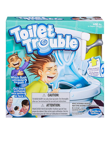 Hasbro Toilet Trouble Game-MULTI-One Size