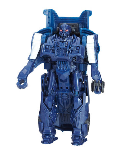 Transformers The Last Knight 1-Step Turbo Changer Cyberfire Barricade-MULTI-One Size
