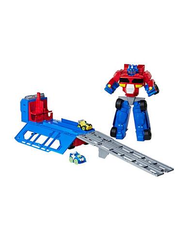 Playskool Playskool Heroes Transformers Rescue Bots Flip Racers Optimus Prime Race Track Trailer-MULTI-One Size 89383699_MULTI_One Size