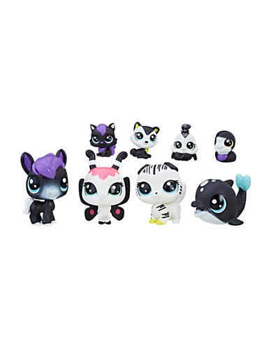 Littlest Pet Shop Littlest Pet Shop Black and White Friends-MULTI-One Size
