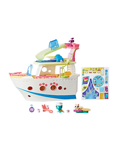 Littlest Pet Shop Littlest Pet Shop Cruise Ship-MULTI-One Size