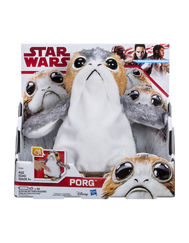 Star Wars Star Wars The Last Jedi Porg Electronic Plush-MULTI-One Size